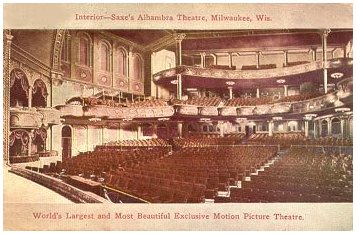 Alhambra Theater Interior