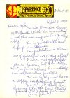 4th Personal Letter (Page 1) From J. Lawrence Cook To Mike Meddings