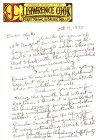 5th Personal Letter From J. Lawrence Cook To Mike Meddings