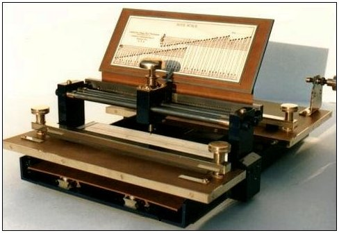 Mike's Roll Arranging and Perforating Machine