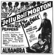 Advert for the Alhambra Theater, Milwaukee 21st August 1927 - courtesy of Prof. Alan Wallace