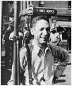 Jelly Roll Morton, street shot taken in Harlem, New York, c. 1935