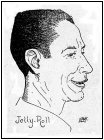 Caricature of Jelly Roll Morton by Harold Hersey c. 1947