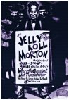Caricature of Jelly Roll Morton by Oscar Zarate - courtesy of Millie Gaddini and Neil Aldridge