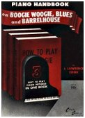 Boogie Woogie, Blues and Barrelhouse - Piano Handbook - click to enlarge